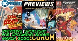 Previews Spotlight - What Comic Books to Buy for March 2020!!