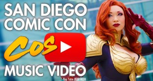 SDCC San Diego Comic Con - I Just Want To Be A SuperHero - Cosplay Music Video