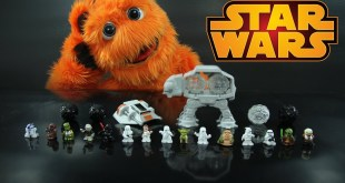 Star Wars Fighter Pods Action Figures Toy Review - Star Wars VII // Fuzzy Puppet
