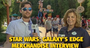 Star Wars: Galaxy's Edge Merchandise Interview | Disney's Hollywood Studios