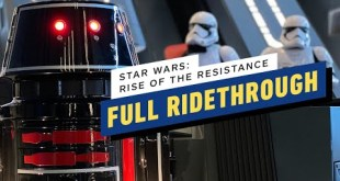 Star Wars: Rise of the Resistance - Disney World Full Ridethrough