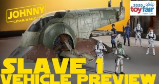 Star Wars The Vintage Collection Boba Fett Slave I New York Toy Fair 2020 Reveal