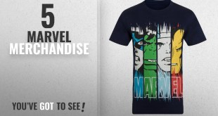 Top 10 Marvel Merchandise [2018]: Marvel Comics Official Gift Mens Character T-Shirt Iron Man Thor