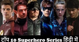 Top 10 Superhero TV Series In Hindi Dubbed | Netflix | Show | Web | CW | Shows