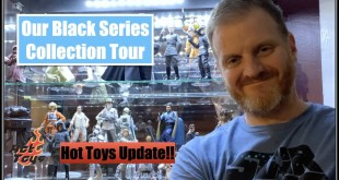 Tour of our Star Wars Black Series Collection & Hot Toys update