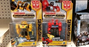 Toys R Us - New Transformers Cyberverse Figures, RID - Robots in Disguise, Power of the Primes, etc.