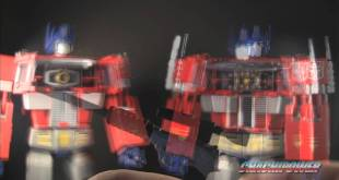 Transformers Takara Convoy MP-01L vs. Hasbro 20th Anniversary Masterpiece Optimus Prime
