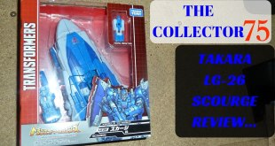 Transformers Takara Legends LG-26 SCOURGE Review