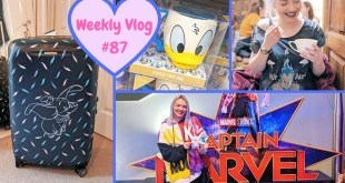 Weekly Vlog #87 | Captain Marvel Disney UK Gifts & Samsonite Dumbo Suitcase Review!