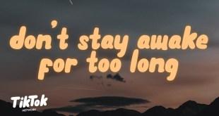 Powfu Death Bed Music Video & Lyrics dont stay awake for too long w/ beabadoobee