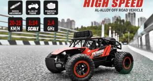 BEZGAR Remote Control Car 1:14 Aluminium Alloy Affordable Racer