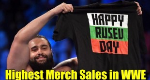 10 Wrestlers With The Highest Merchandise Sales! (2018) - Rusev, John Cena & More!
