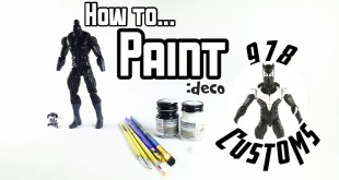 HOW TO: Paint marvel legends Action figures - BLACK PANTHER- VENOMVERSE