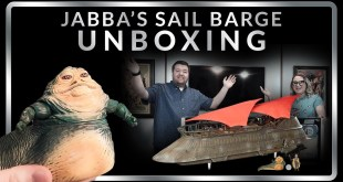 Hasbro Jabba's Sail Barge Unboxing