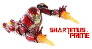 Hot Toys Mark 45 Iron Man Marvel's Avengers Age of Ultron Die Cast 1:6 Collectible Figure Review