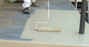How to paint a concrete floor - Step by step guide on how to paint concrete floors.