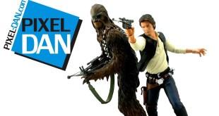 Kotobukiya Star Wars ArtFX+ Han Solo & Chewbacca 1/10 Scale Statues Video Review