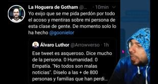 LA HOGUERA DE GOTHAM SE ALEGRA DE LOS DESPIDOS DE DC COMICS Y ACUSA A ARROWVERSO DE MENTIRAS Y ACOS0