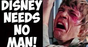Lucasfilm in CHAOS?! Star Wars erases Luke Skywalker from merchandise?!