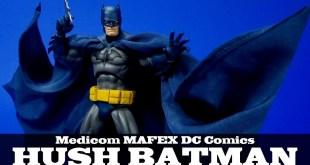 MAFEX Batman Hush Medicom DC Comics Action Figure Review