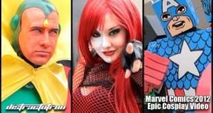 Marvel Comics Epic Cosplay Video 2012 - Marvel Heroes Compilation