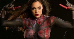 Marvel vs DC Body Paint Cosplay - 23 x Image Gallery - epicheroes Animated Video