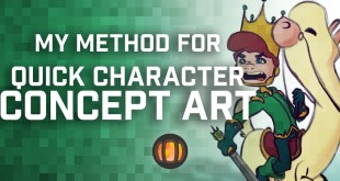 My Method for Quick Character Concept Art