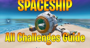*NEW* SPACESHIP - All Challenges Guide in Fortnite