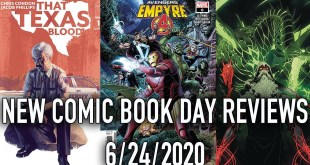 New Comic Book Day Reviews 6/24/2020 - Batman, Harley Quinn, Sleeping Beauties and more!
