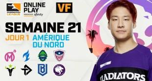 Overwatch League Saison 2020 | Semaine 21 | NA Jour 1