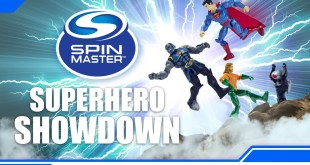 SUPERHERO SHOWDOWN FROM SPIN MASTER!