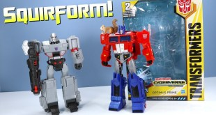 Transformers Cyberverse Optimus Prime and Megatron Ultimate Class