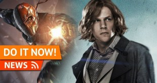 WB & DCEU Jesse Eisenberg Didn't Finish Reading Script Before Joining