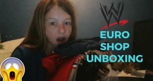 WWE EURO SHOP UNBOXING!! (4 T-SHIRT'S)