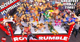 WWE ROYAL RUMBLE ACTION FIGURE MATCH! GREATEST OF ALL TIME!
