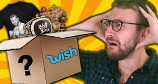 We Spent $200 On Fake Wrestling Merch From Wish...