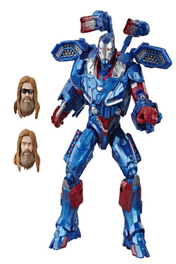 Marvel Legends Iron Patriot Avengers Endgame Action Figure