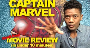 CAPTAIN MARVEL: Spoil-Free Movie Review + Concept Art (all in under 10 minutes)
