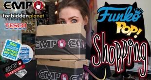 Exclusive FUNKO POP Haul! // EMP // Forbidden Planet // TESCO // UK