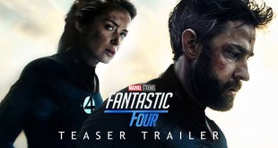 FANTASTIC FOUR Teaser Trailer Concept - Phase 5 MCU John Krasinski, Emily Blunt Movie