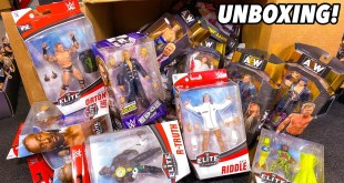 HUGE WWE ELITE & AEW UNRIVALED ACTION FIGURE UNBOXING!
