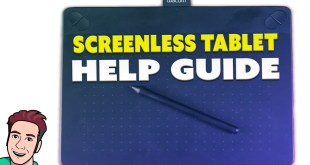 How to Use a Screenless Drawing Tablet (FAQ)