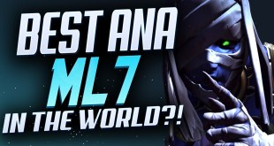 ML7 THE MOST DOMINANT ANA GAMEPLAY EVER - [ OVERWATCH SEASON 23 TOP 500 ]