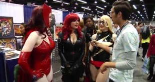 Ms. Marvel, Black Widow & Scarlet Witch (Uncut: WonderCon 2)