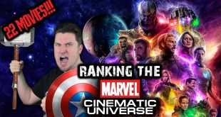 Ranking the 22 Marvel Cinematic Universe Movies (w/ Avengers: Endgame)