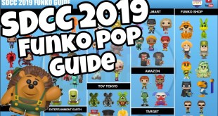 SDCC 2019 Funko Pop Exclusives Guide | Where To Find Them