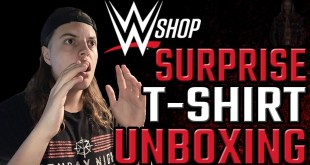 SURPRISE WWE T-SHIRT UNBOXING/REVIEW!!