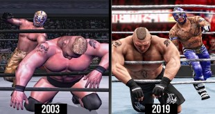 WWE 2K20 The Evolution Of 619! (WWE Games)