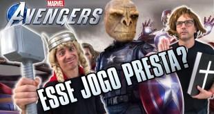 ESSE JOGO PRESTA? Marvel´s Avengers GAMEPLAY BETA e do Gavião Arqueiro - Irmãos Piologo Games