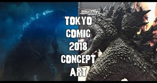 Godzilla King of the Monsters Tokyo Comic Con Concept Art/Monster Designs